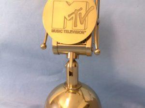 Premio in metallo verniciato e litografato